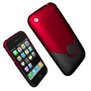 【iPhone 3G】 Apple アイフォーン最高級スタイリッシュ ケース アクセサリー【赤】