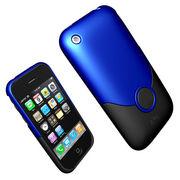 【iPhone 3G】 Apple アイフォーン最高級スタイリッシュケース【青】