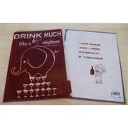 Shinzi Katoh Clear folder-B drink much