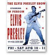 �y���������z�A�����J���G�݁��Ŕ����A��v���X���[�FElvis Presley Show