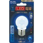 ELG-01B-BL  ELPA LED電球 ブルー