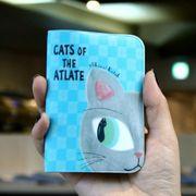 Shinzi Katoh CARD HOLDER CAT'S EYE(BLUE)