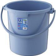 リス『使い易いバケツ』 ベルクバケツ 22SB 本体 ブルー
