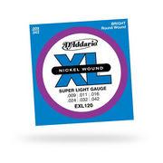 EXL120 ダダリオ エレキギター弦 SuperLight