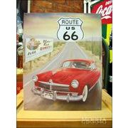 アメリカンブリキ看板 U.S.ROUTE66 Mother Road Diner