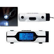 LEDライト付電波時計
