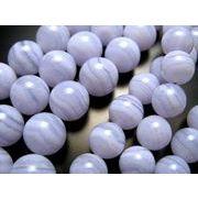 ◇◆ 高品質&低価格 ◆◇ ★6mm珠★一連★ブルーレースアゲートAAA★約40cm★