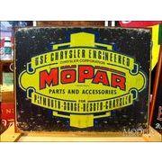 アメリカンブリキ看板 MOPARロゴ