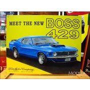アメリカンブリキ看板 マスタング -Mustang Boss 429-
