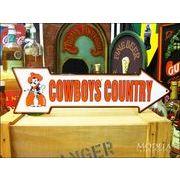 アメリカンブリキ看板 Oklahoma State Cowboys 道標