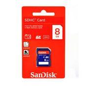SDHC SDSDB-008G-B35(どの機器でも使えるサンディスク製・8GB SDHCカード・Class4・海外パッケージ)