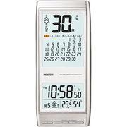 【代引不可】CASIO カシオ マンスリーカレンダー電波掛時計 壁掛け時計