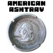 AMERICAN ASHTRAY COIN 【灰皿 アメリカン コイン 25セント】