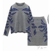 【初回送料無料】ロマンチックファッションスーツ●ブラック/ブルー2色★too-af9814-212