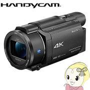 ソニー デジタル4Kビデオカメラレコーダー ハンディカム FDR-AX55-B