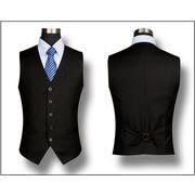ビジネスベスト  スーツ チョッキ 通勤ベスト 細身 紳士 就職