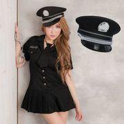 女警官 ステージ衣装 婦警 警察 コスプレ レースクイーン コスチューム ハロウィン仮装 bwn0303-1