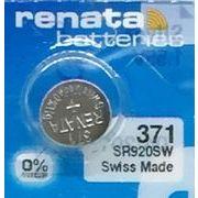 RENATA 371 SR920SW 0%Mercury