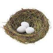 MNK:ガーデニングマスコット【鳥の巣/M】