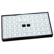 ディスプレイ用品: ルースケース(50個)&収納トレイ 展示用 商談用 l-c-13