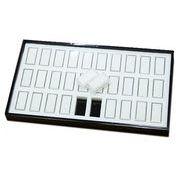 ディスプレイ用品: ルースケース(30個)&収納トレイ 展示用 商談用 l-c-15