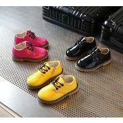 【子供靴】★可愛いデザインの子供靴&サンダル★ピカピカ皮靴★女の子★3色★サイズ21-36