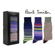 PAUL SMITH ポールスミスメンズソックス / 3パックソックス(カラー:3)【ANXA-SOCK-PACK-3】