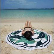 ラウンドマット夏新品★大人気ビーチタオル★ラウンドビーチタオル★砂浜タオル