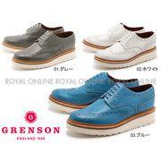 【グレンソン】 5067 アーチー V ARCHIE V ウイングチップ シューズ 紳士靴 全3色 メンズ
