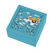 【 木製オルゴール(海)♪海の声 】 【 木製Aメロディー 】