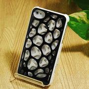 ☆一掃セールで55円!☆iPhone4 4S対応カバー 鳥の巣 模様