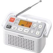 AV-J125W ツインバード 手元スピーカー機能付3バンドラジオ