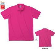 カジュアルポロシャツ/袖リブを排除した軽量仕様/TMS