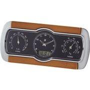 温湿度電波クロック C-8271