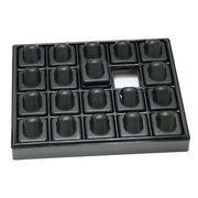 【指輪・リングディスプレイ 20個用】 黒・ブラック  コレクション用にもおすすめ