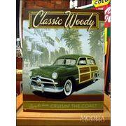 アメリカンブリキ看板 Woody クラシックウッディ