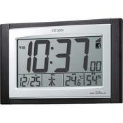 【代引不可】 シチズン 電波時計(掛置兼用) 目覚まし時計