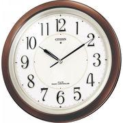 【代引不可】 シチズン 自動点灯ライト付電波掛時計 壁掛け時計