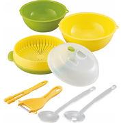 【代引不可】 簡単レンジと便利グッズ6点セット キッチン用品・食器・調理器具 その他
