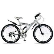 「メーカー直送」M-960-2-S マイパラス 26インチ自転車 M-960type2 MTB26・18SP・Wサス シルバー