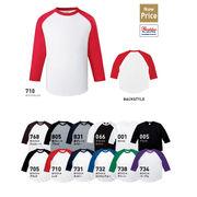 ラグランベースボールTシャツ/TMS