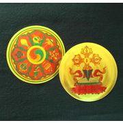 【チベットの護符】八吉祥・蓮華羯磨 2種セット