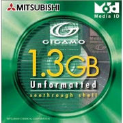 KID1G3U1S 三菱化学メディア GIGAMO 3.5インチ MO 1.3GB