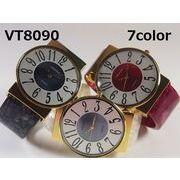 VITAROSOレディース腕時計 バングルウォッチ 日本製ムーブメント 大きめ文字盤