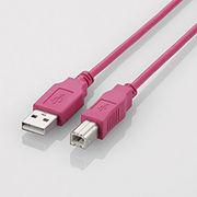 エレコム USB2.0ケーブル 1.5m U2C-BN15PN A-Bタイプ