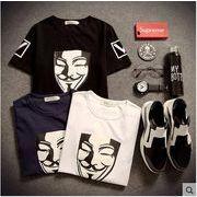 【メンズ】プリント半袖Tシャツ/トップスTシャツ/トップス_38677424164