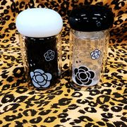 【セール771006】カメリアデザイン 韓国キッチン雑貨 ガラス ボトル グラスカップ コップ 花入れ