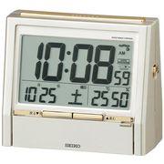 【新品取寄せ品】セイコークロック 電波目覚まし時計 DA206G