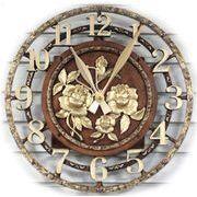 バラ_特大掛け時計