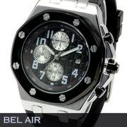 【八角形ベゼル】★グランド タペストリー 文字盤 メンズ腕時計 DD6【Bel Air collection】